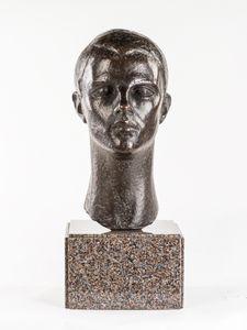 BRONZE PORTRAIT BUST - Dora Gordine 1895?-1991