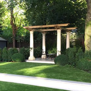 Filler: The Pergola - Hand Carved Natural Limestone