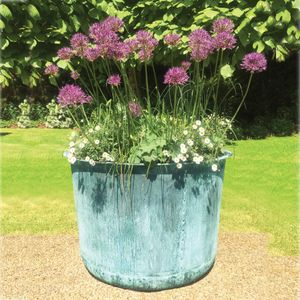 Filler: The Circular Copper Garden Planter - Large