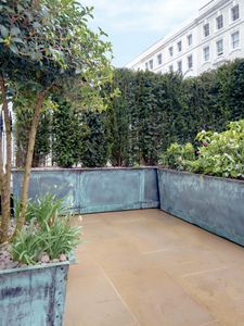 Filler: The Rectangular Copper Garden Planters