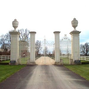 Filler: Hand Carved Stone Gate Piers