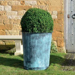 The Circular Terrace Copper Garden Planter - Large