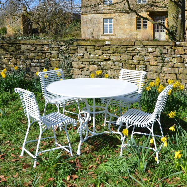 The Ladderback Garden Chair