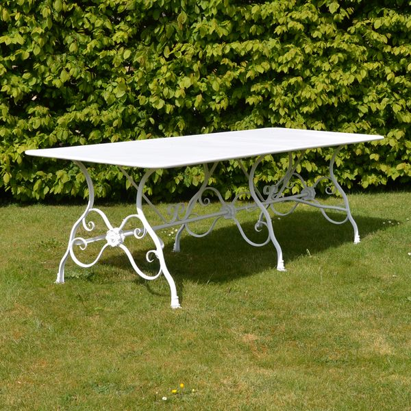 The Large Rectangular Garden Dining Table