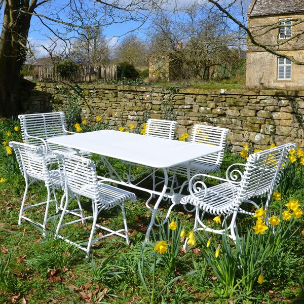 The Small Rectangular Garden Dining Table