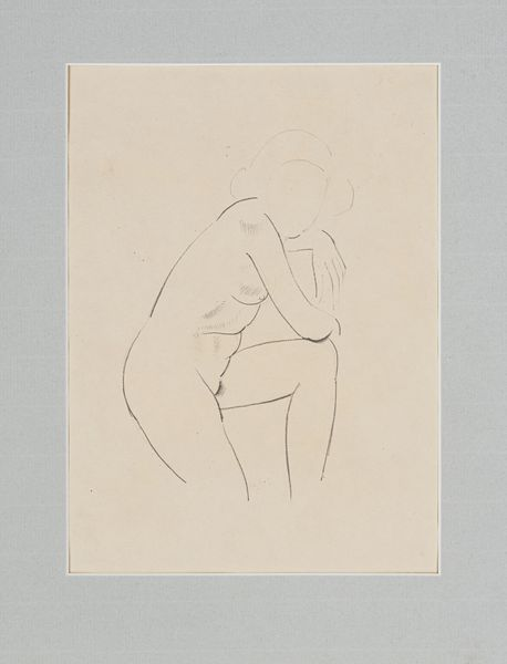 STUDY OF A FEMALE NUDE - Eric Gill 1882-1940