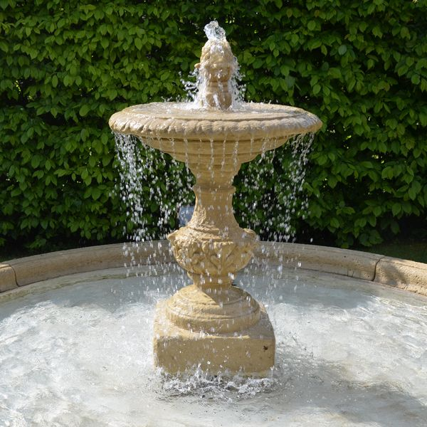 The Single Tier Fountain - NEW STONE COLOUR PATINATION