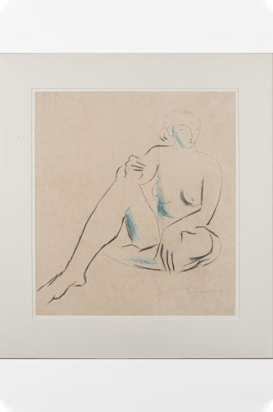 'Seated Nude' David Francis Butterfield 1905 - 1968