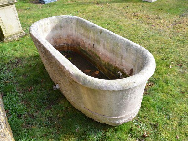 A period marble bath