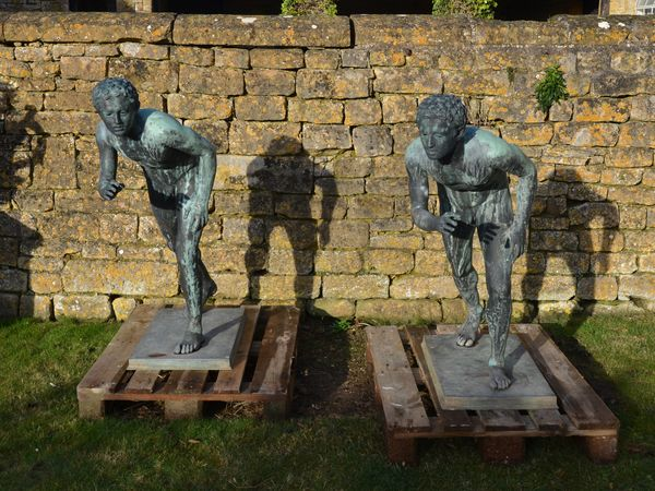 The Bronze Runners also known as The Wrestlers