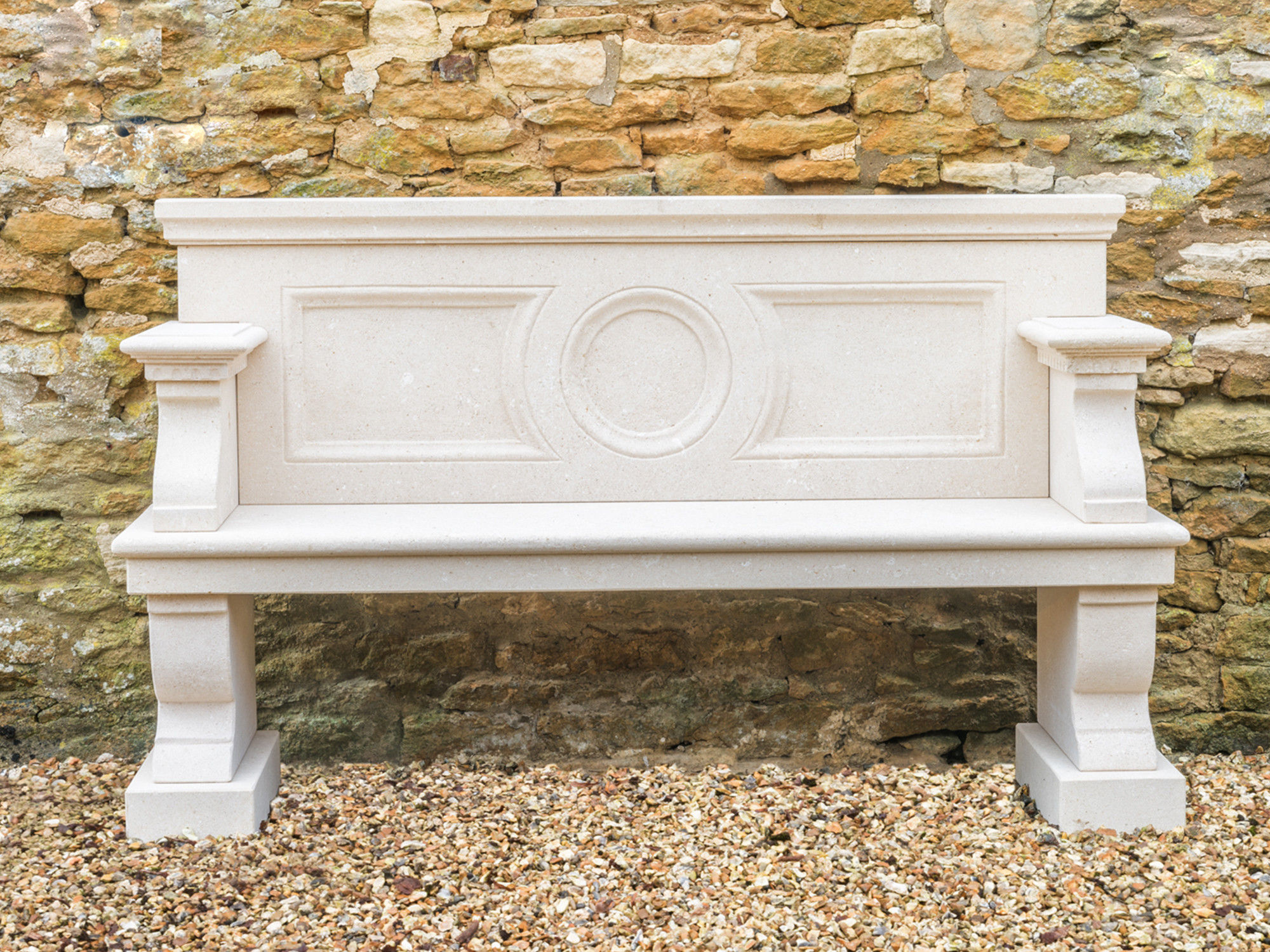 The Neo-Classical Garden Seat