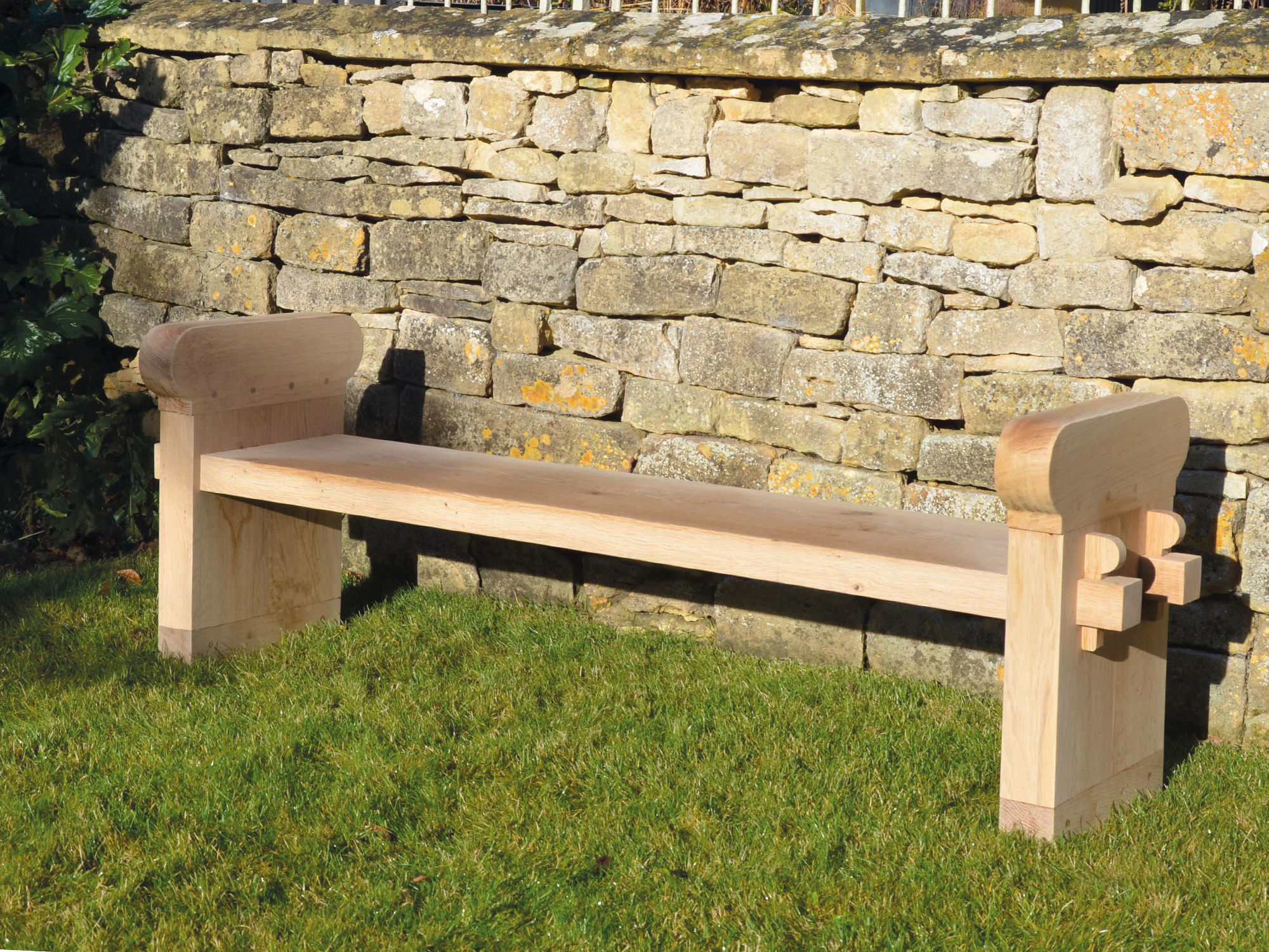 The Quercus Robur Garden Bench