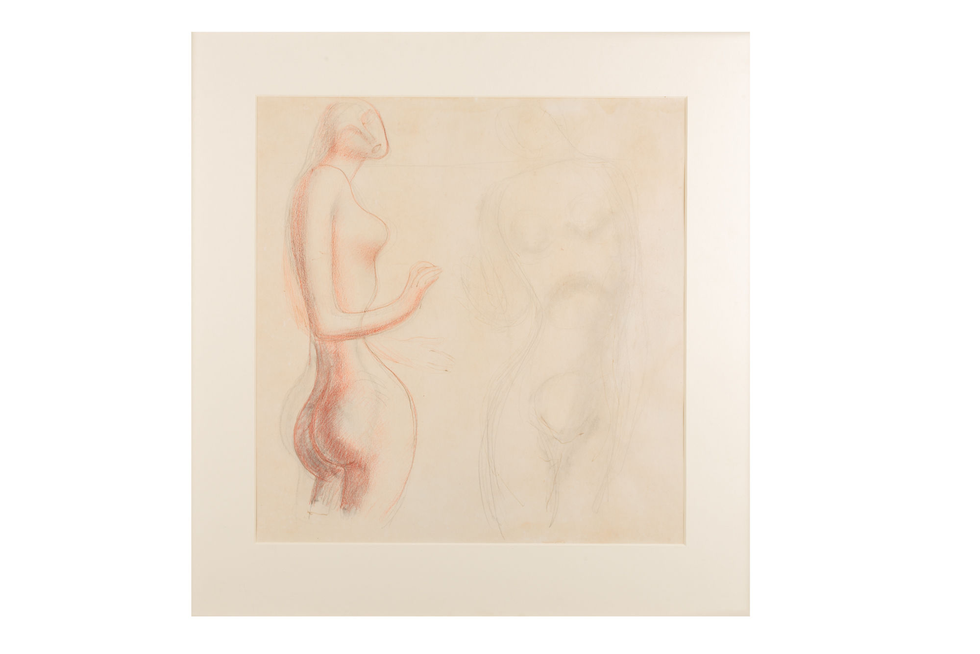 Untitled (Nude Studies) Leon Underwood 1890 - 1975