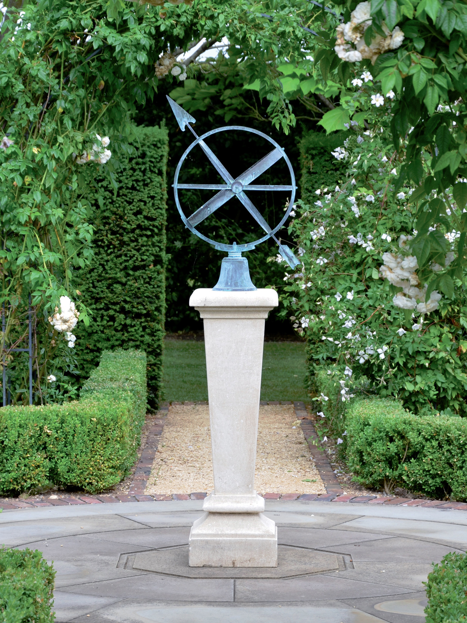 The Inverted Sundial Pedestal With