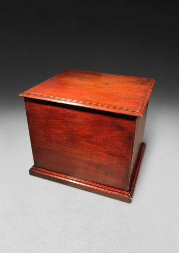 Regency Mahogany Cased Patented Flushing Toilet