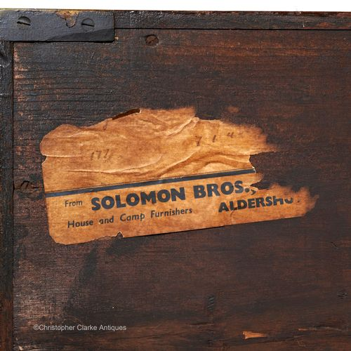Miltary Campaign Chest By A&N CSL For Solomon Bros.