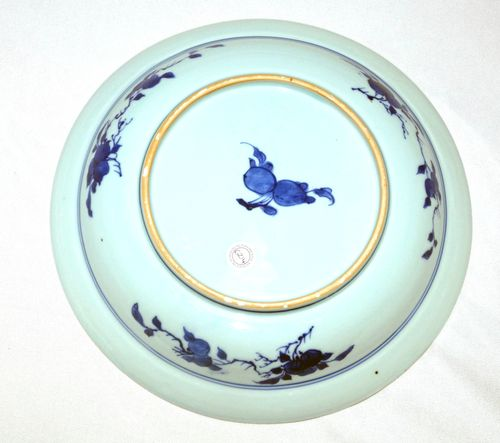 Kangxi Master of The Rocks Large Blue and White Plate
