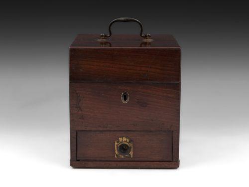 Antique Apothecary Medicine Box