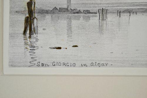 Edward William Cooke, RA - San Giorgio in Alga