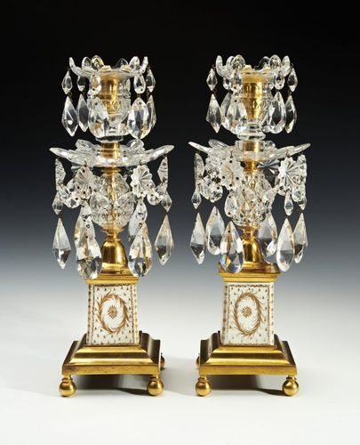 A fine pair of candlesticks