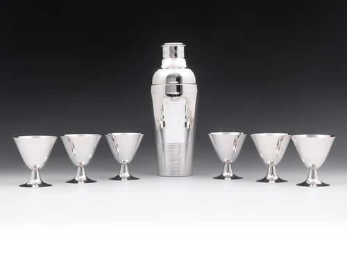 French Cocktail Set by Gallia