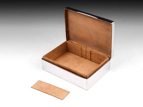 Sterling Silver Shagreen Cigar Box