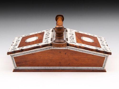 Satinwood Sewing Basket