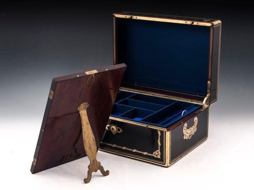 Ebonised Sycamore Jewellery Box