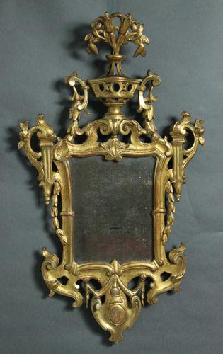 Pair of Antique Girandole mirrors