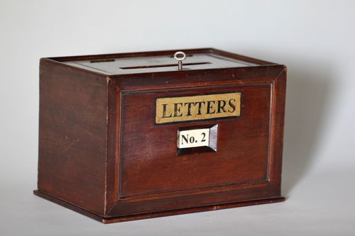 19th Century Hotel/Apartment Posting Box