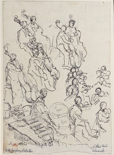 Lord Methuen - BBC Symphony Orchestra - drawing