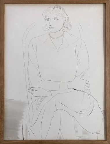 Ceri Richards (1903 - 1973)  Study of a Girl