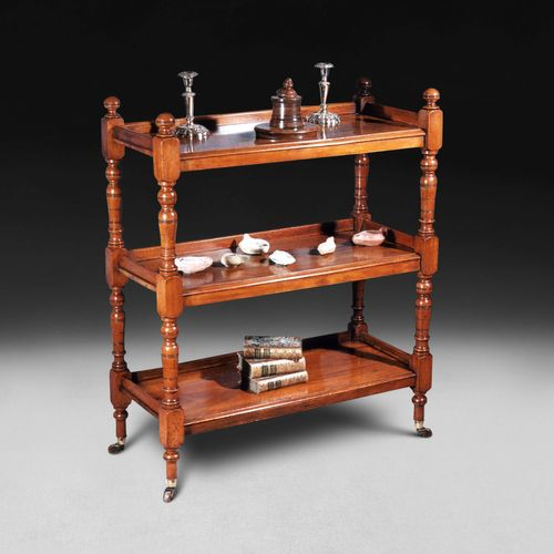 William IV Walnut Etagere