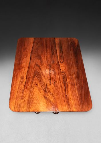 A William IV Rosewood Wine Table