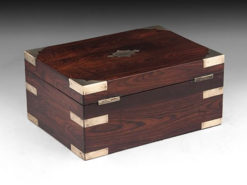 Antique Kingwood Jewellery Box