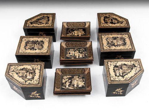 Chinoiserie Games Box