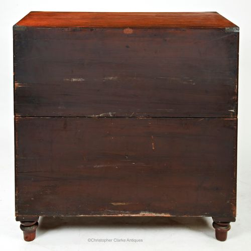 Secretaire Campaign Chest by SW Silver