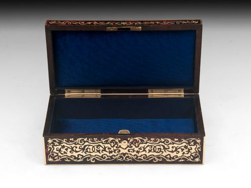 Antique Boulle Jewellery Box
