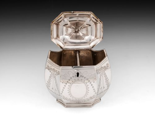Silver Tea Caddy