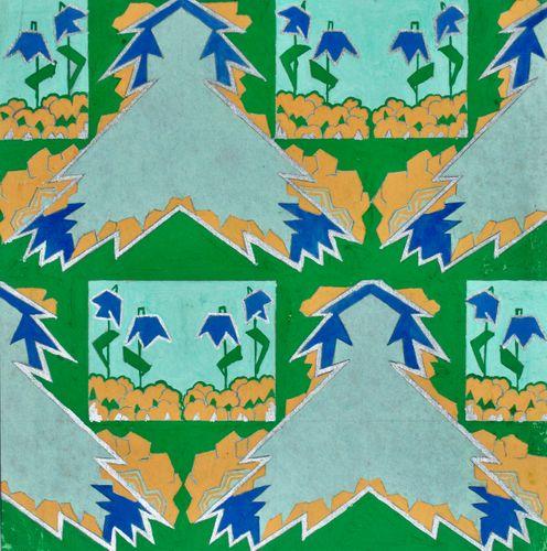 Marie Palmer-Smith - Deco Design - gouache