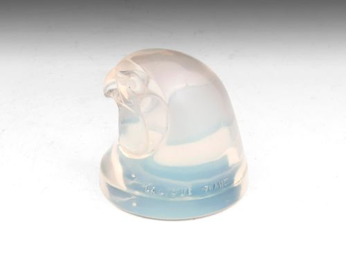 Lalique Opalescent d'Epervier (Hawks Head)