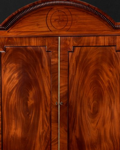 Regency Period Mahogany Gentleman's Press attributed to Gillows