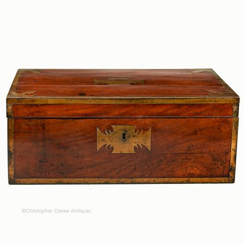 Mahogany Portable Desk or Writing Slope