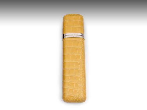 Asprey Crocodile Cigar Case
