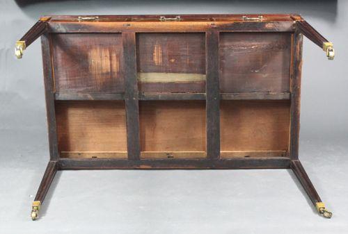 Georgian mahogany writing table