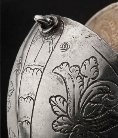 A rare Silver Incense Boat Spanish Colonial c.1680