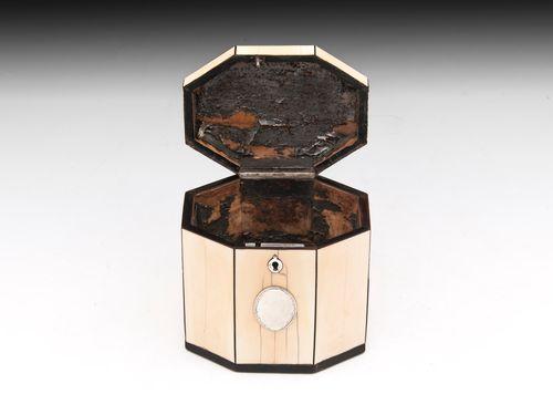 Antique Ivory Tea Caddy