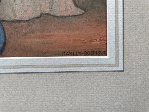 Frederick Cayley Robinson - A Summer Evening