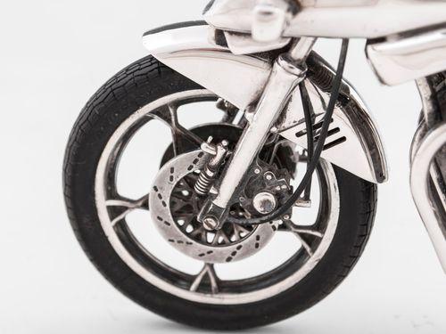 Sterling Silver Suzuki Katana Motorcycle