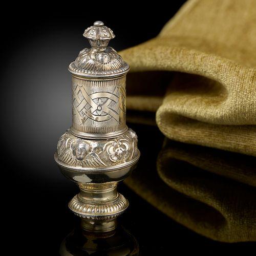 A 17th century Silver Gilt Pomander